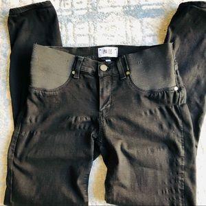 PAIGE size 27 black stretch ultra skinny jeans